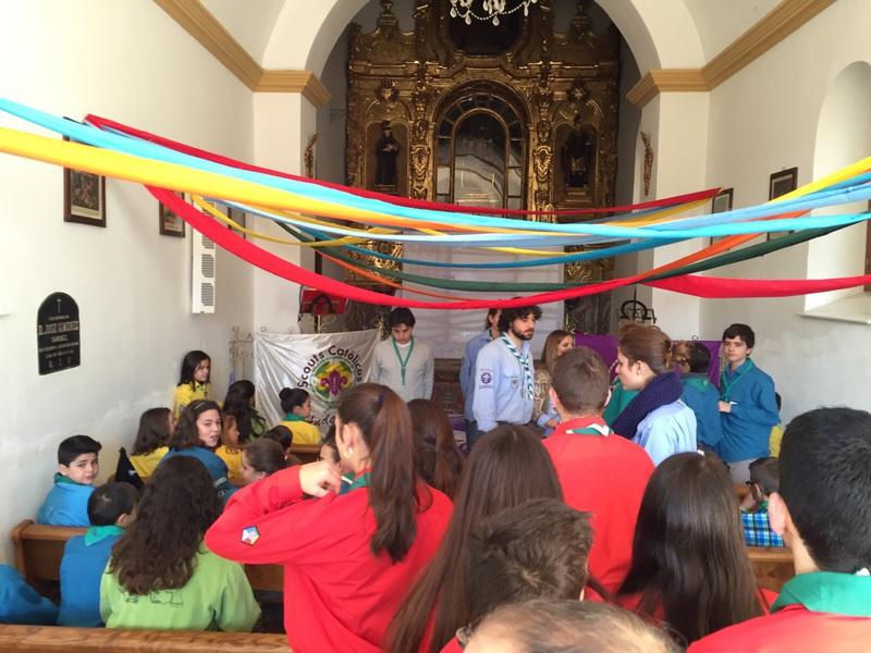 Grupo - Luz de la Paz de Belén Atarfe 1 - 15-16