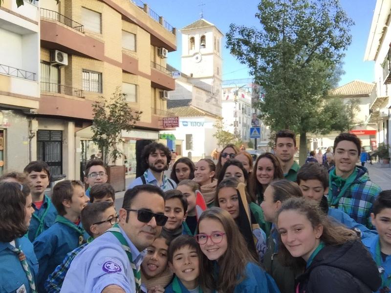 Grupo - Luz de la Paz de Belén Atarfe 10 - 15-16