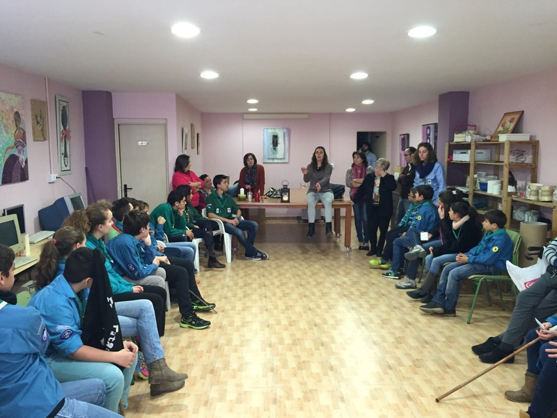Grupo - Luz de la Paz de Belén Atarfe 11 - 15-16