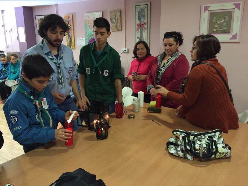 Grupo - Luz de la Paz de Belén Atarfe 12 - 15-16