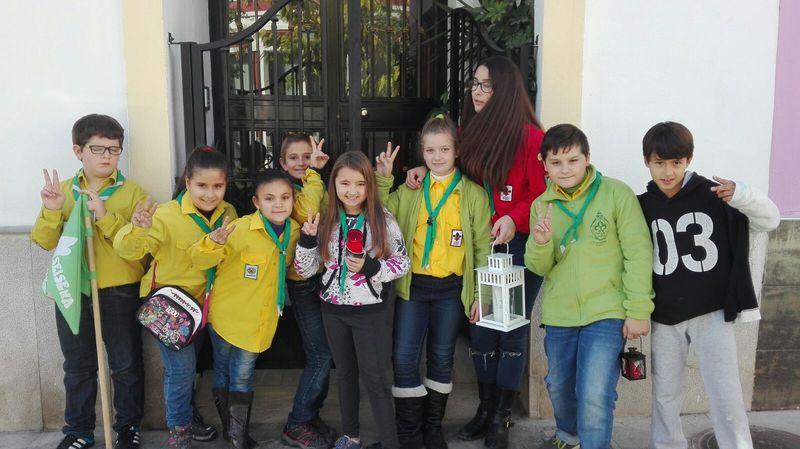 Grupo - Luz de la Paz de Belén Atarfe 13 - 15-16