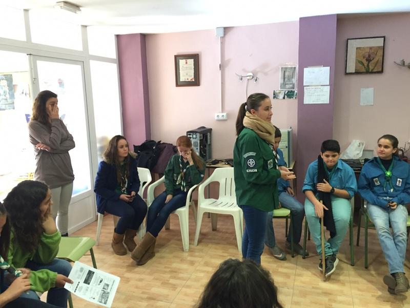 Grupo - Luz de la Paz de Belén Atarfe 15 - 15-16