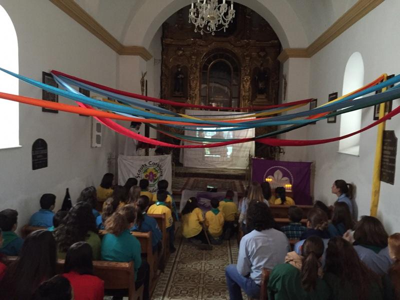 Grupo - Luz de la Paz de Belén Atarfe 2 - 15-16