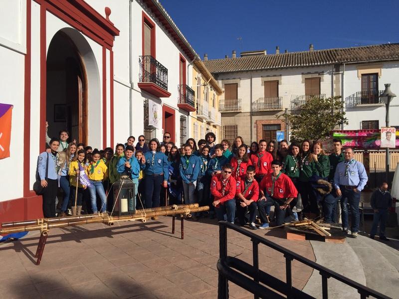 Grupo - Luz de la Paz de Belén Atarfe 3 - 15-16