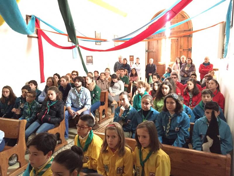 Grupo - Luz de la Paz de Belén Atarfe 4 - 15-16
