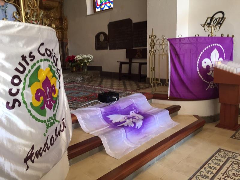 Grupo - Luz de la Paz de Belén Atarfe 6 - 15-16