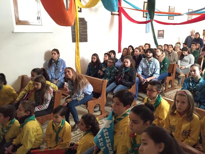 Grupo - Luz de la Paz de Belén Atarfe 7 - 15-16