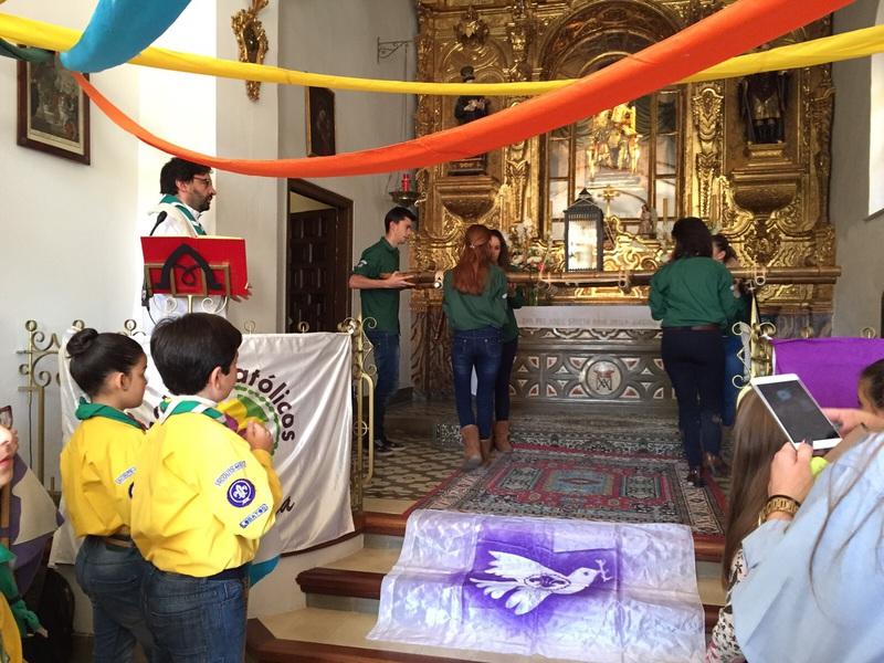 Grupo - Luz de la Paz de Belén Atarfe 8 - 15-16