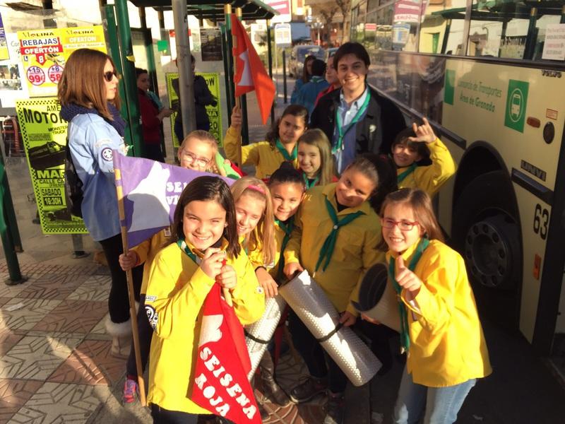 Grupo - Luz de la Paz de Belén Granada 1 - 15-16