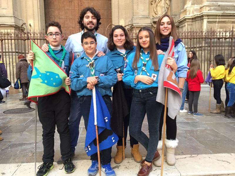 Grupo - Luz de la Paz de Belén Granada 10 - 15-16