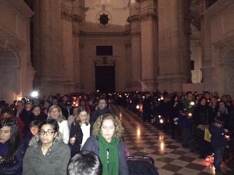 Grupo - Luz de la Paz de Belén Granada 14 - 15-16