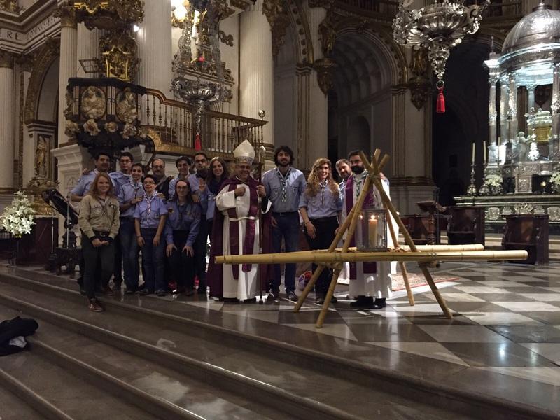 Grupo - Luz de la Paz de Belén Granada 16 - 15-16
