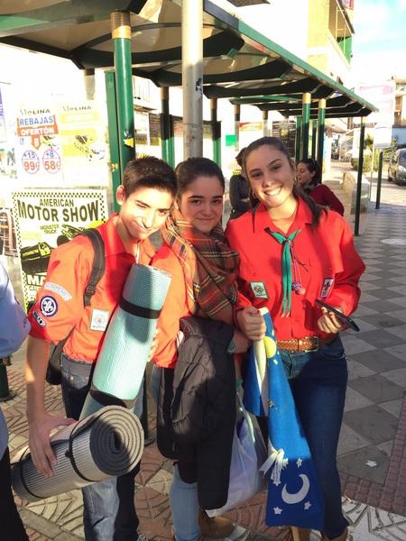 Grupo - Luz de la Paz de Belén Granada 2 - 15-16