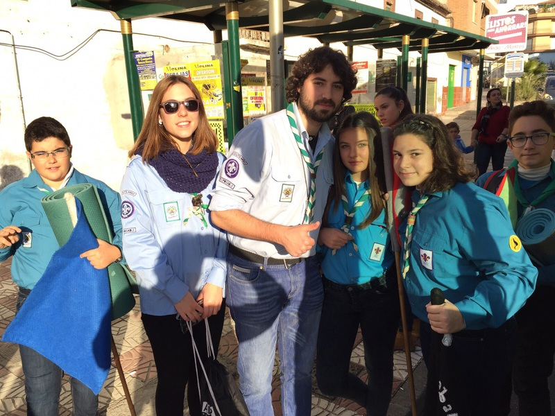 Grupo - Luz de la Paz de Belén Granada 3 - 15-16