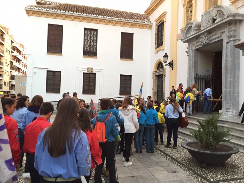 Grupo - Luz de la Paz de Belén Granada 5 - 15-16