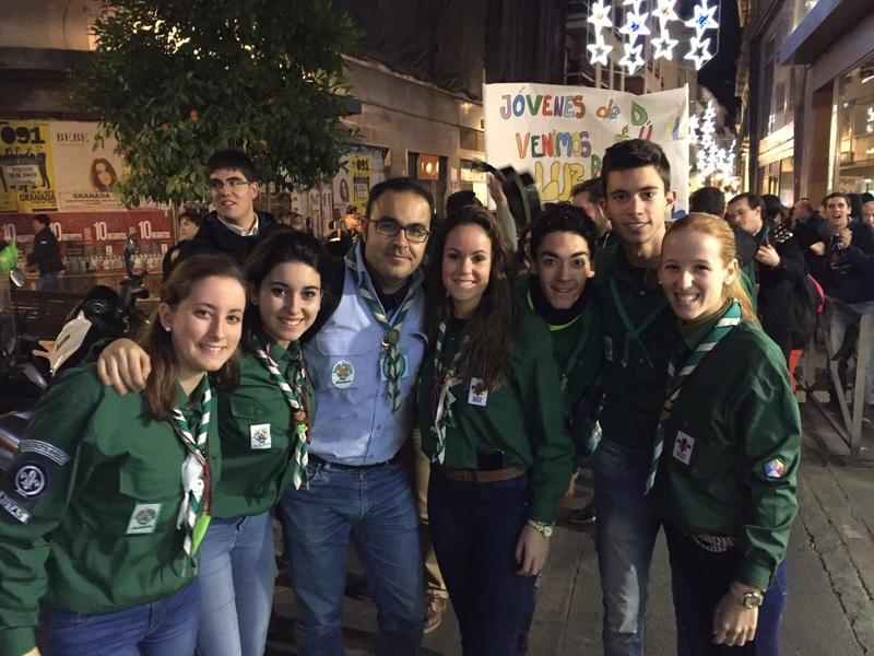 Grupo - Luz de la Paz de Belén Granada 6 - 15-16