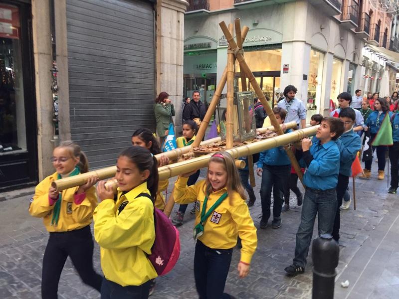 Grupo - Luz de la Paz de Belén Granada 7 - 15-16