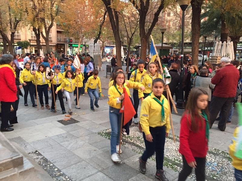 Grupo - Luz de la Paz de Belén Granada 8 - 15-16