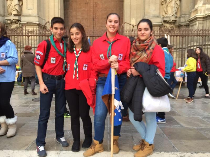 Grupo - Luz de la Paz de Belén Granada 9 - 15-16