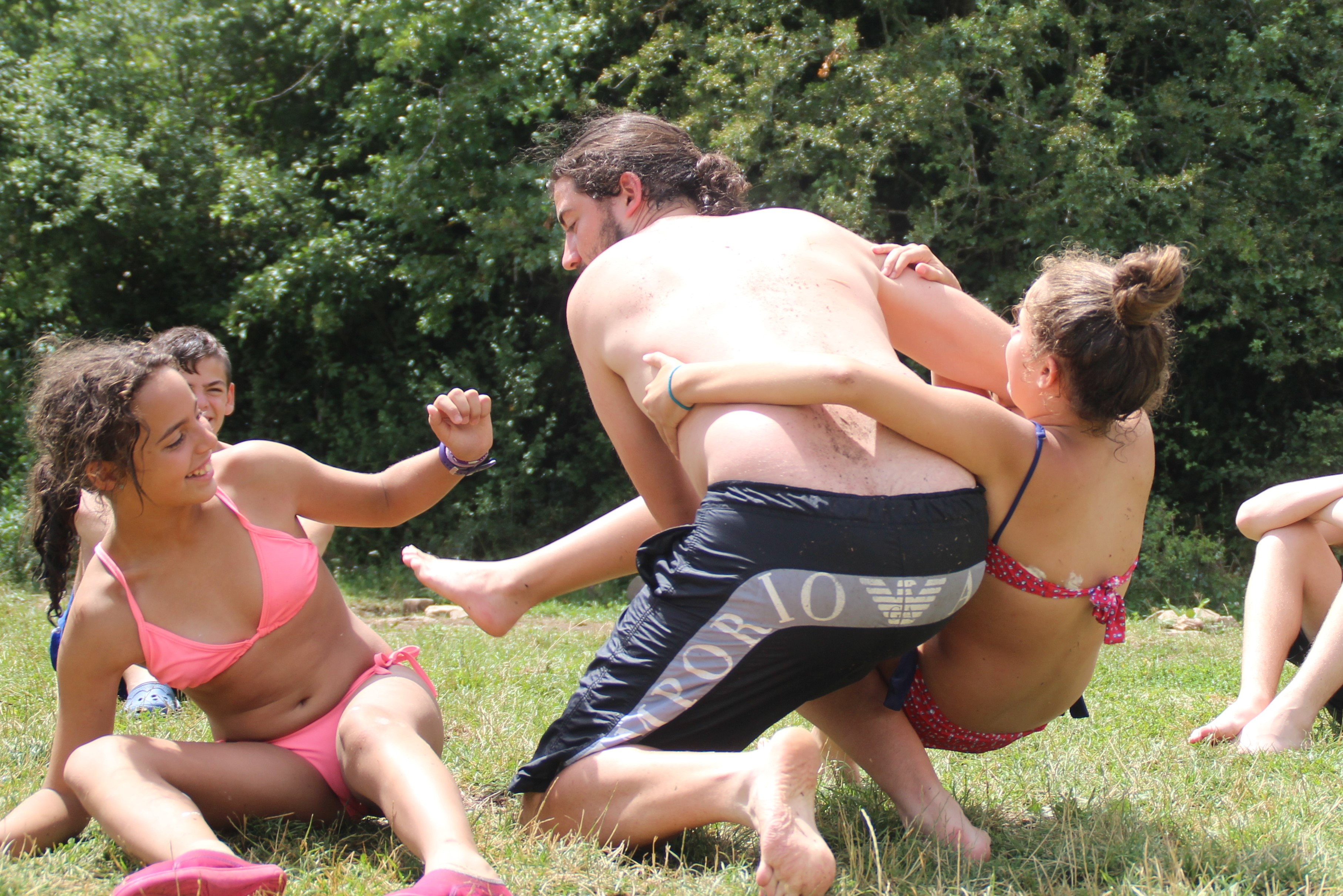 15-16 - Grupo - Campamento de verano - P181