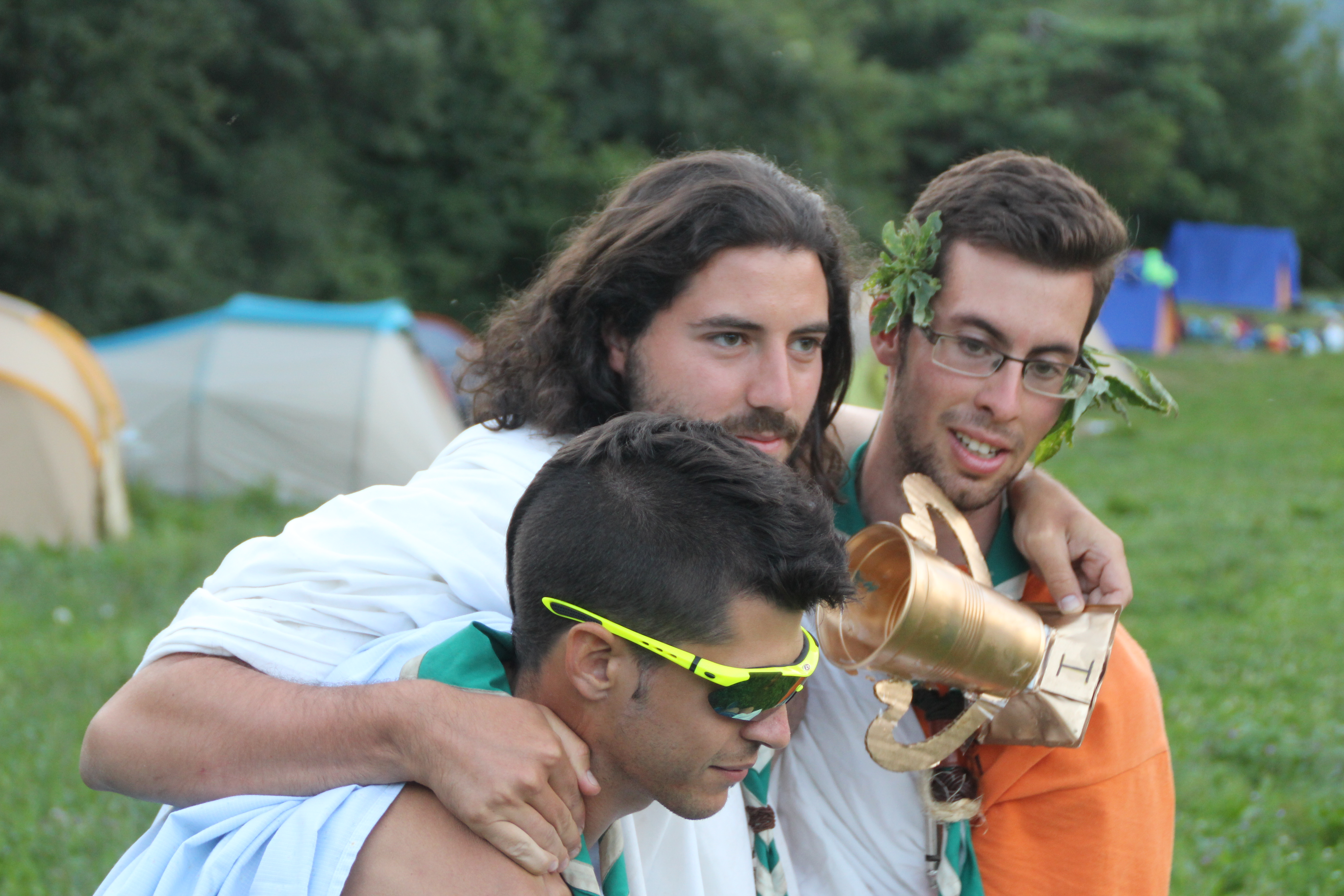 15-16 - Grupo - Campamento de verano - P283