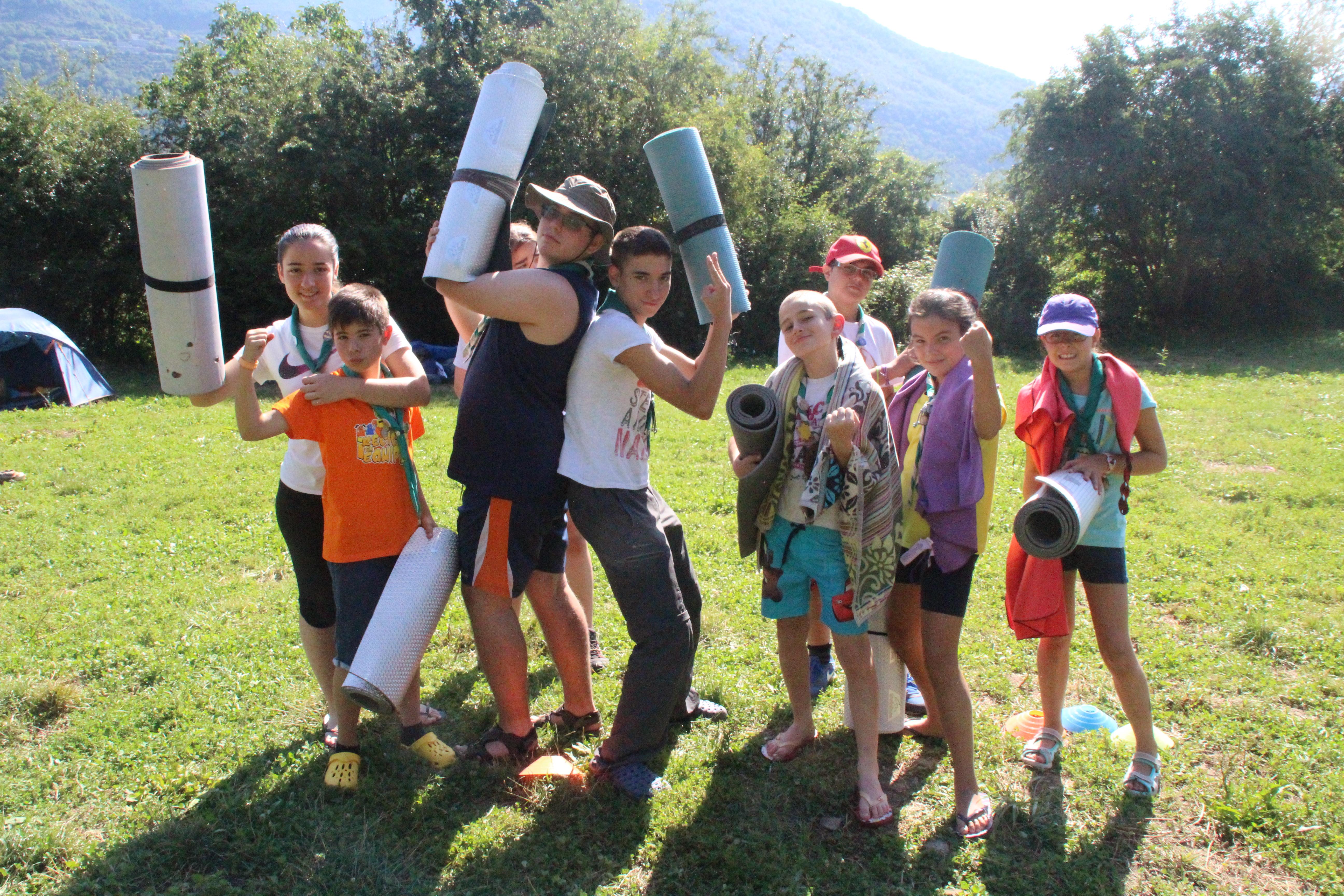 15-16 - Grupo - Campamento de verano - P92